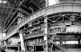 首钢京唐钢铁厂5500立方米高炉进入投产准备阶段