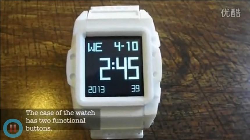 3D打印-智能手表