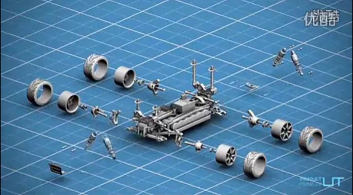 3D打印-遥控车
